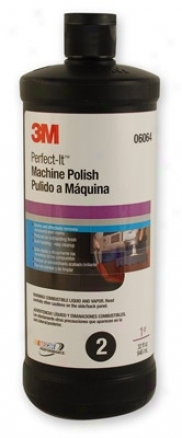 3m Perfect-it 3000 Machine Polish Swirl Mark Rdmover 32 Oz.