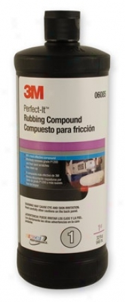 3m Perfect-it 3000 Rubbing Compound 32 Oz.