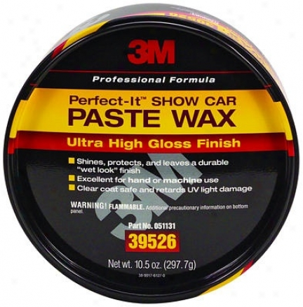 3m Perfect-it Show Car Paate Wax 10.5 Oz.