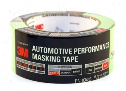 3m Premium Automotive Masking Tape 48mm X 32m
