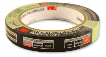 3m Scotch 233+ Premium Automotive Masking Tape 18 Mm X 32 M