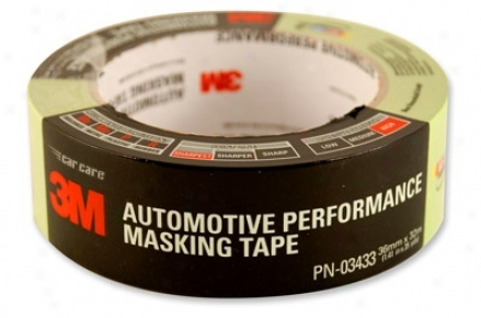 3m Scotch 233+ Premium Automotive Masking Tape 36 Mm X 32 M