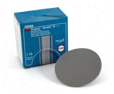 3m Trizact Hookut Ii Blending Discs P1000