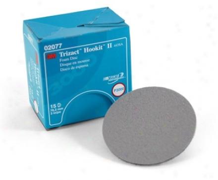 3m Trizact Hookit Ii Foam Discs P3000