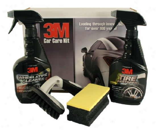 3m Wheel & Tire Care Combo