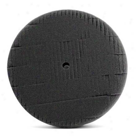 6 Inch Lake Country Kompressor Black Finessing Foam Pad
