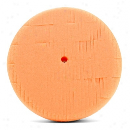 6 Inch Lake Country Kompressor Orange Light Cutting Foam Pad