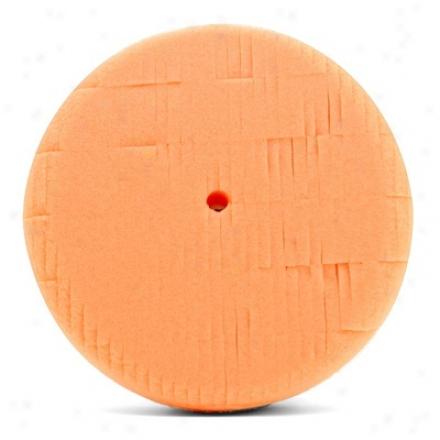 6 Inch Lake Country Kompressor Orange Light Cutting Foam Pad