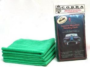 6 Pack Co6ra Microfiber Detailing Cloth