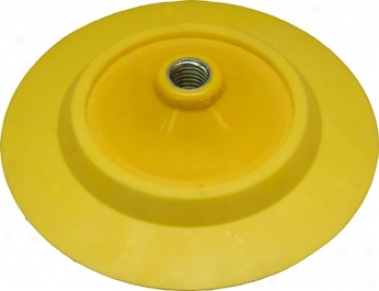 7 Inch  Hook & Loop Whirling Flexible Backing Plate