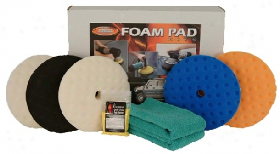 "Advancde Curved Power to wound7 .5"" Ccs Foam Pad Kit"
