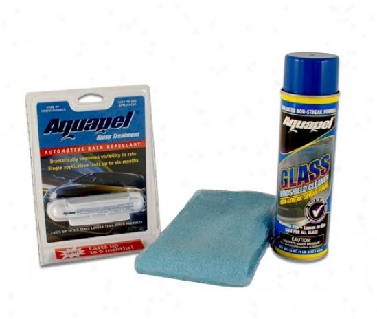 Aquapel Glass Repellent & Cleaner Kit