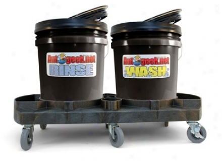 uAtogeek Complete Two Bucket Wash System - Black