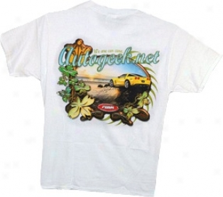 Autogeek In Paradise T-shirt