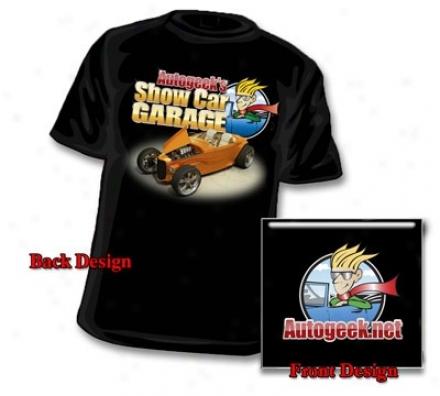 Autogeek Show Car Garage T-shirt