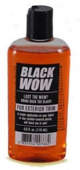 Black Wpw Exterior Trim Restorer