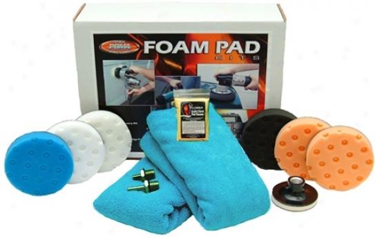 Ccs Spot Bufsf 4 Inch Foam Pad Kkt Free Bonus!