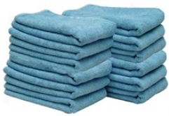 Cobra Blue All Purpose Microfiber Towels 12 Pack