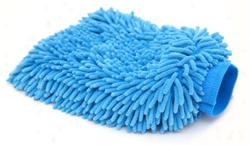 Cobra Blue Micro-chenille Wash Mitt