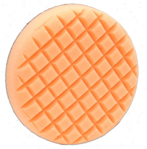 "Cobra Cross Groo\/eâ""¢ 6.5 Inch Orange Light Cutting Pad"