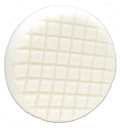 "Cobra Cross Grooveâ""¢ 6.5 Inch White Polishing Pad"