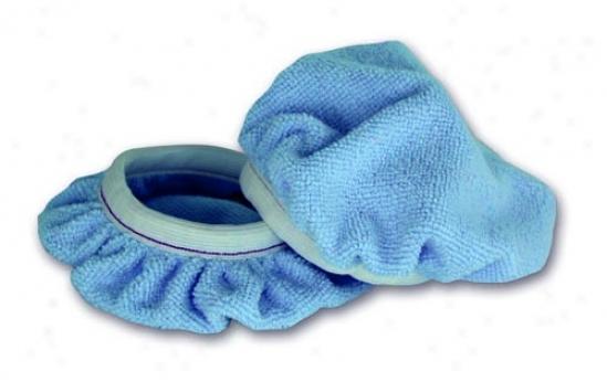 Cobra Deluxe 6 Inch Blue Microfiber Bonnets