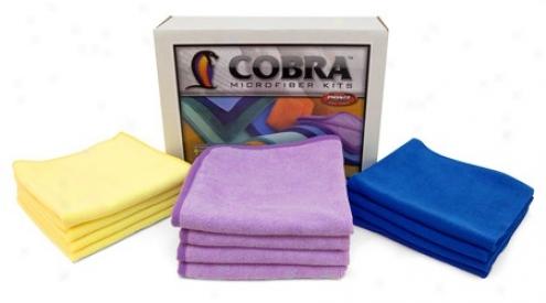 Cobra Microfiber Towel Combo  Free Bonus!