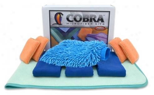 Cobra Total Microfiber Tool Kit  Free Bonus!