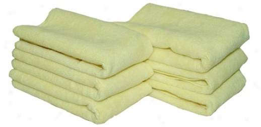 Hooded snake Golden All Purpose Microfiber Towels 6 Pack