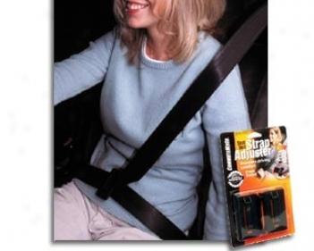 Commutemate Seat Belt Shoulder Strap Adjuster (2-pack)