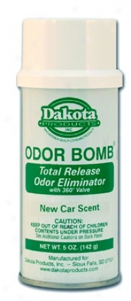 Dakota Oddor Bomb Car Odor Eliminator - New Car Scent