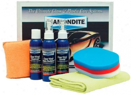Diamondite�� Clear Vinyl A whole  Kit For Hand Application