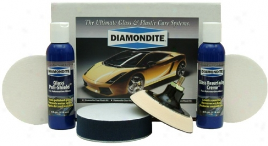 Diamondite� Glass Repair System Kit For Machinery Application