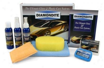 Diamonditeeâ® Glasswwork System Kit For Hand Application