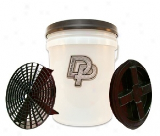 Dp 5 Gailon Wash Bucket Combo Available In Black, Red, & Clear
