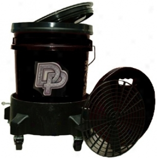 Dp Complete Wash Bucket System With Dolly Available In Mourning, Red, & Clear