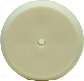 "Edge 8"" White Durafoam Pad"