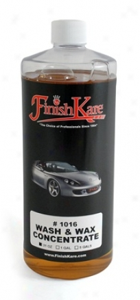 Finish Kare 1016 Wash & Wax Concentratw 31 Oz.