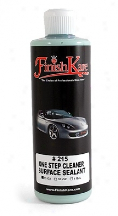 Finish Kare 215 One Step Cleaner & Surface Sealant 15 Oz.