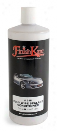 Finish Kare 218 Poly Wipe Sealant Conditioner 31 Oz.