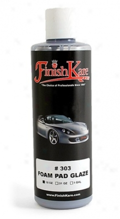 Finish Kare 303 Foam Pad Glze  15 Oz.