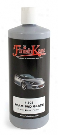 Finish Kare 303 Froth Pad Glaze  31 Oz.
