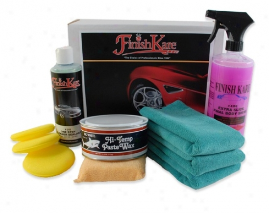 Finish Kare Anti-static Hi Temp Wax Kit