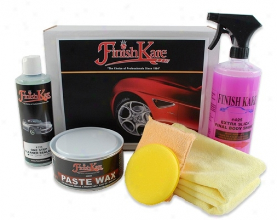 Finish Kare Anti-static Pink Wax Outfit
