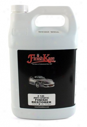 Finish Kare Anti Static Poly Wipe Finiwh Restorer Spray Detailer 128 Oz.