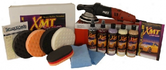 Flex Xc3401 Xmt Heavy Swirl Remover Kit Free Bonus
