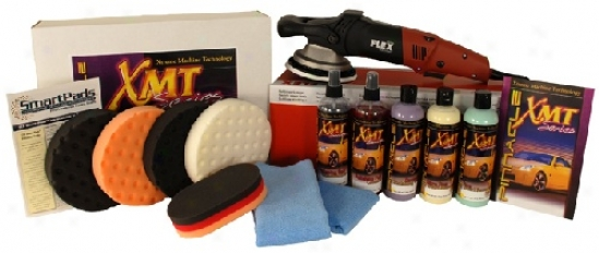 Flex Xc3401 Xmt Light Swirl Remover Kit Free Bonus