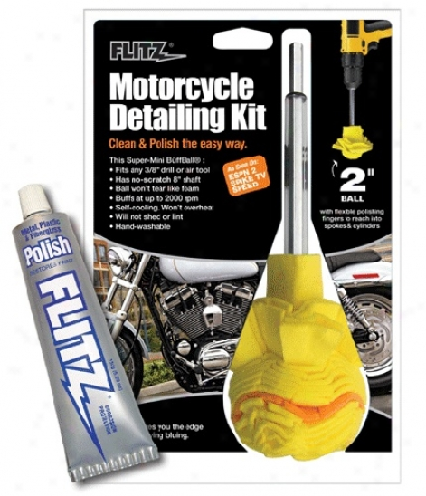 Flitz Motorcycle Detailing Kit