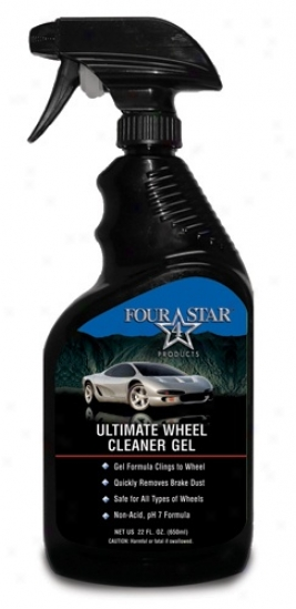 Four Star Ultimate Wheel Cleaner Gel