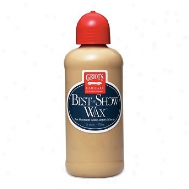 Griot's Garage Best Of Show Wax 16 Oz.